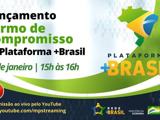 Lançamento: Termo de Compromisso na Plataforma +Brasil