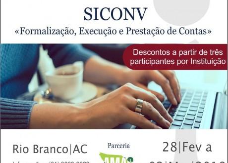 Curso de capacitação no SICONV