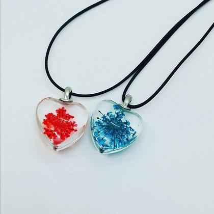 Collar Cristal de Corazón