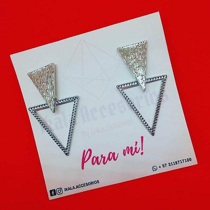 Aretes Doble Triángulos
