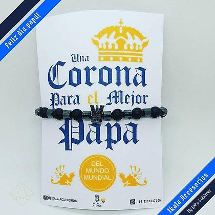 Pulsera para Papá - Corona
