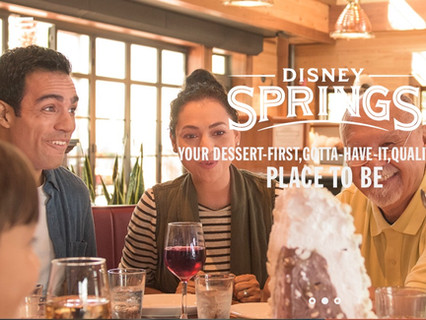 Print Campaign for Disney Springs