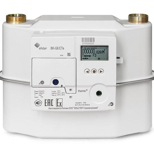 счетчик газа ВК G6 -ETe themis, с GPRS-модемом и электронной