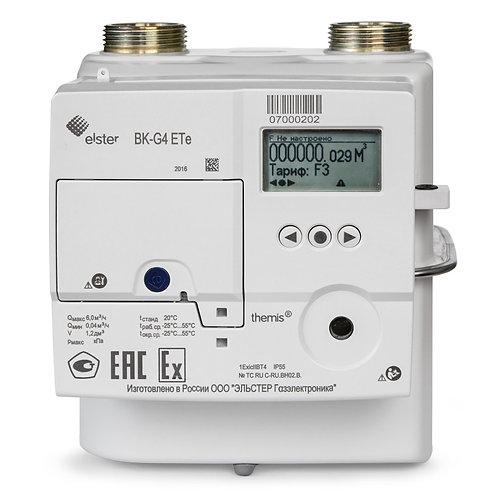счетчик газа ВК G4 -ETe themis, с GPRS-модемом и электронной термо