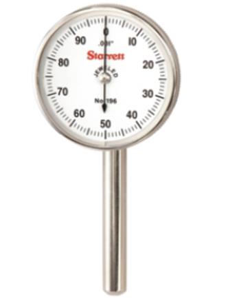 """196B1 Reloj con 3 puntas de Contacto y Adaptador resolucion 0,001"""" Curso 0,200"""""""