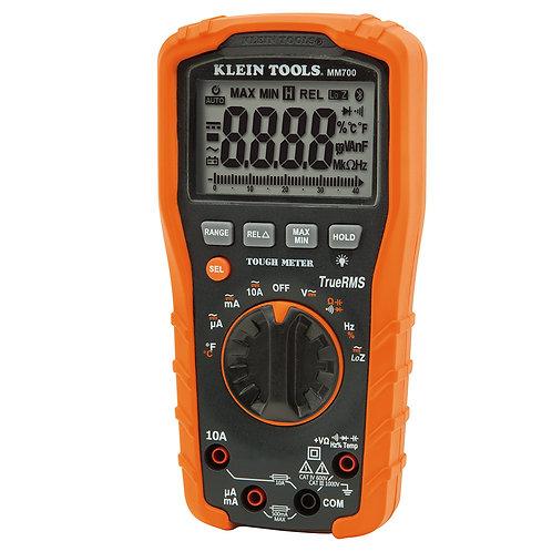 MM700 Multímetro digital 1000V+autor+temp+trms