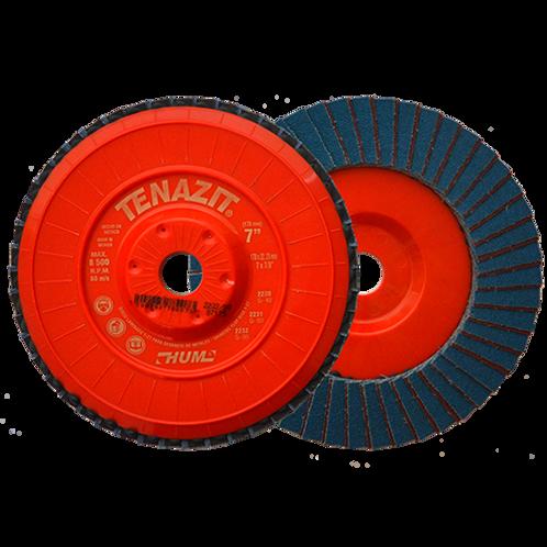 2232  Disco laminado HUM grano 80 Dimensiones (in) : 7X7/8