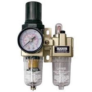 """UPWL3 Filtro regulador y lubricador de aire 3/8"""" NPT"""