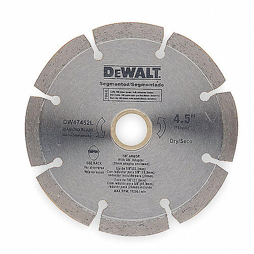 "DW47402L Disco Segmentado Dewalt 4"""