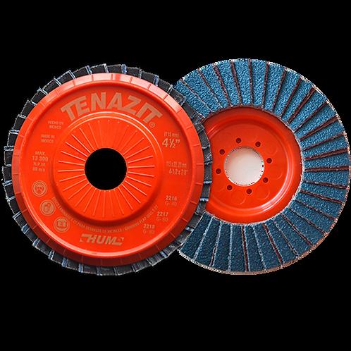 2216 Disco laminado HUM grano 40 Dimensiones (in) :4 1/2X7/8