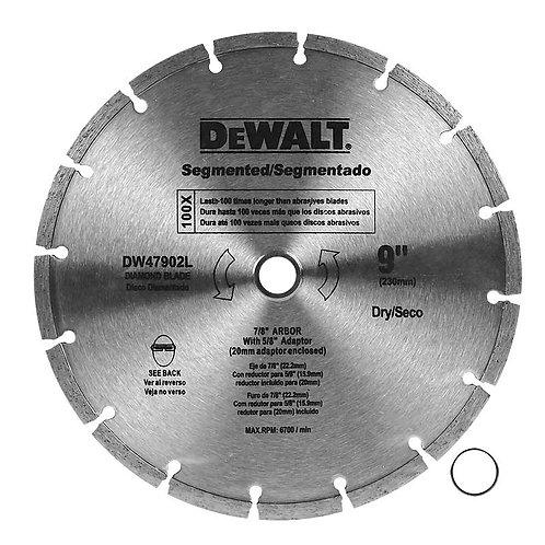 "DW47902L Disco Segmentado Dewalt 7"""