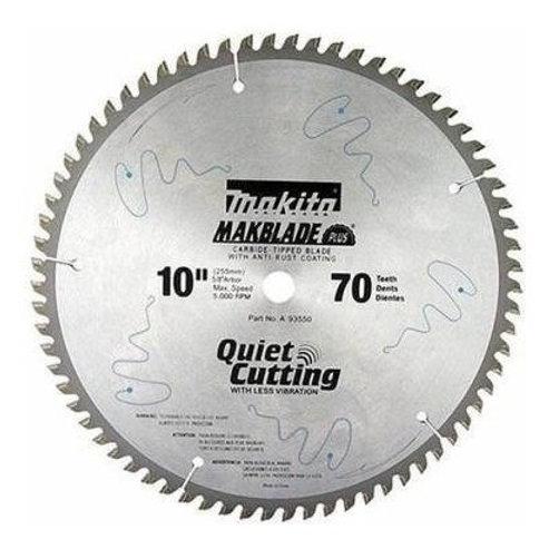 """D-19059 Disco de sierra circular p/aluminio  10"""" x 5/8"""" 70 dientes TCG"""