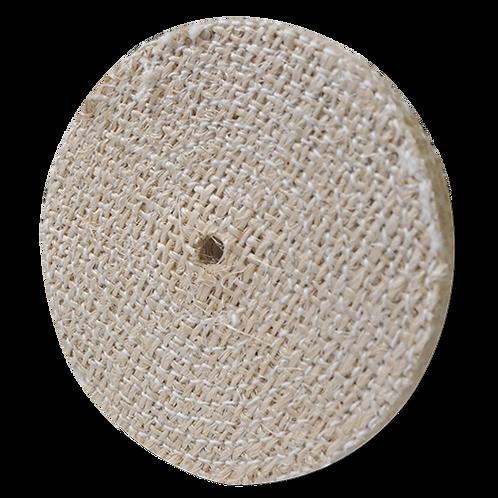 1618 Rueda de sisal para pulido Dimensiones (in) : 6X1/2