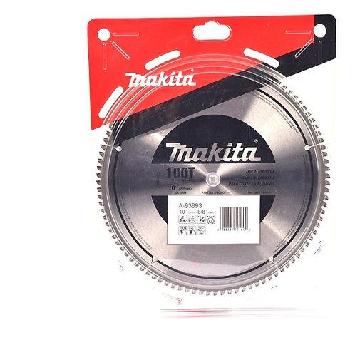 """D-61896 Disco de sierra circular p/aluminio 10"""" x 5/8"""" 100 dientes TCT"""