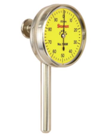 196MB1 Reloj palpador con 3 puntas de contacto y Adaptador  resolucion 0,02mm Cu