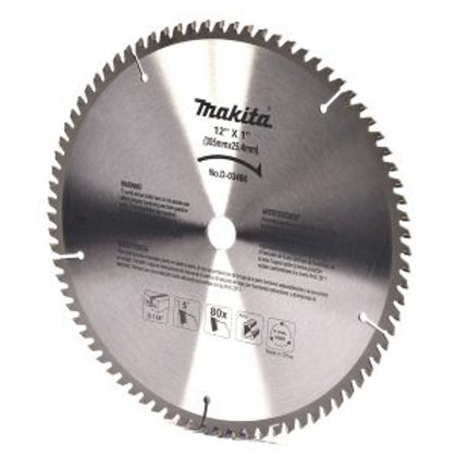 """A-93902 Disco de sierra circular p/aluminio 12"""" x 1"""" x 80 dientes TCG"""