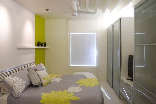 Condo Interior Renovation contemporary bedroom
