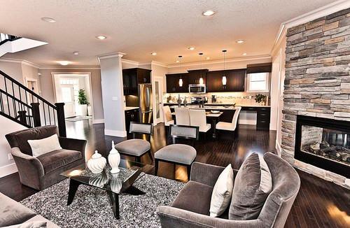 The Georgia contemporary living room