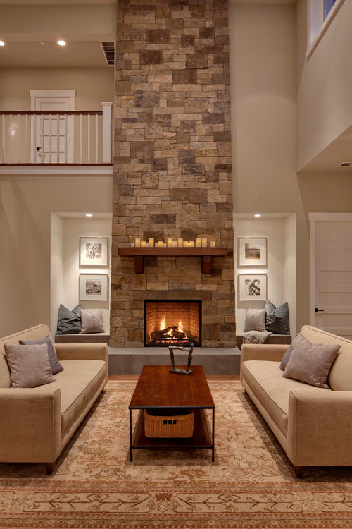 Woodinville Retreat contemporary living room
