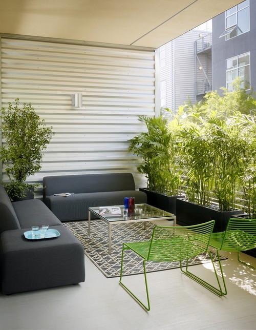 Gallery Loft modern patio