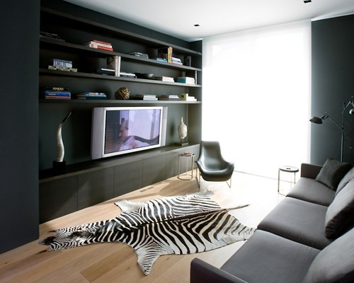 Pacific Heights Residence modern media room