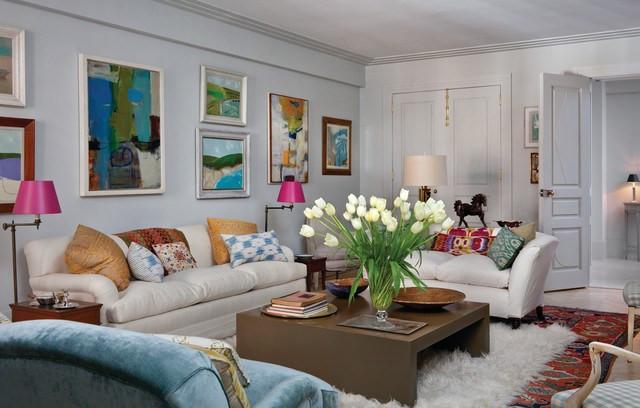 El Dorado eclectic living room