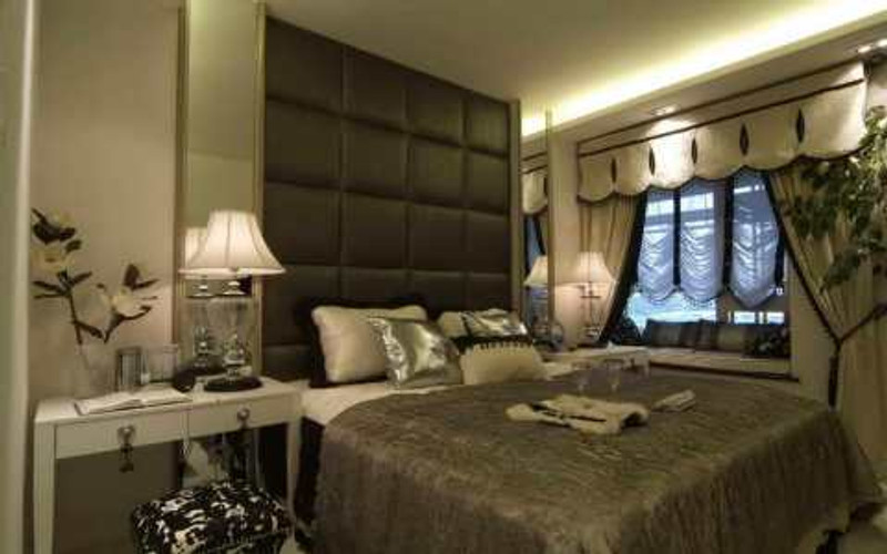 DIM lighting Romantic-Bedroom-Ideas-With-Decorative-Lighting