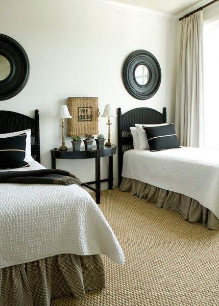 Guest Room eclectic bedroom