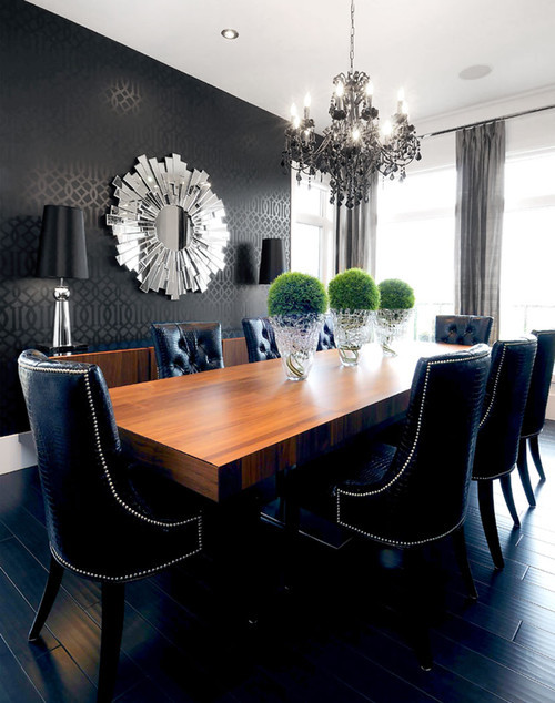 Willowgrove Dining Room contemporary dining room
