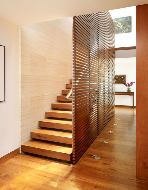 Wood Staircase asian staircase