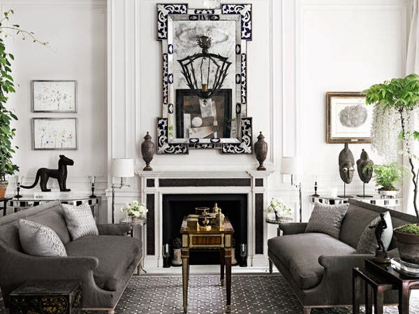 gray living room harpers
