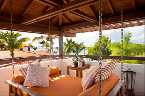 Tower Escape tropical patio