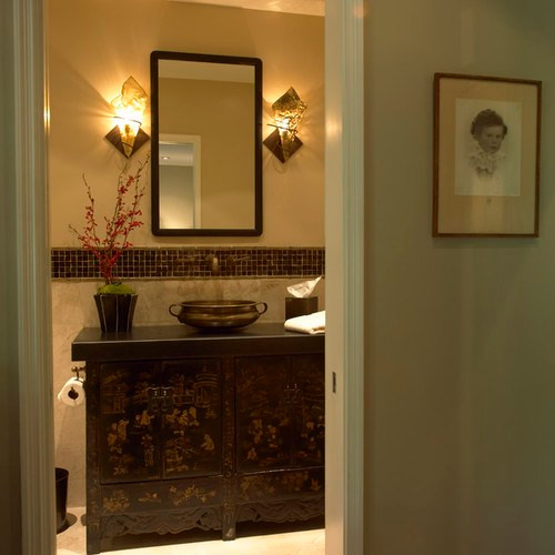Bridge Design Studio asian bathroom