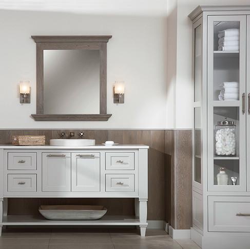 New Furniture Simplifies Bathroom Design