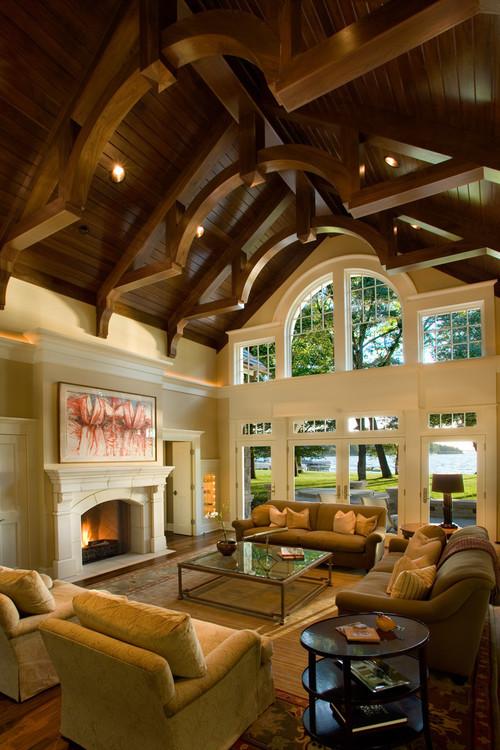 Robinsons Bay Residence traditional living room