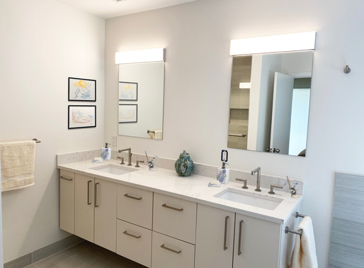 BEHIND THE DESIGN: A Modern Minimalist Kitchen and Bath Makeover in Quogue, New York