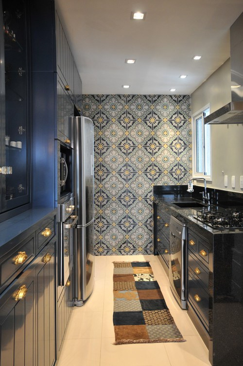 apartamento residencial l vila olimpia eclectic kitchen