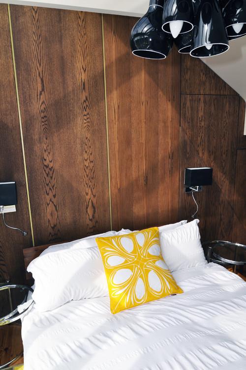 Loft bedroom contemporary bedroom