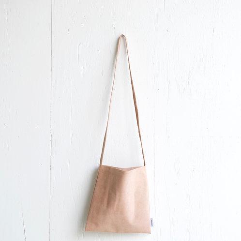 niuhans × howse / Mini Bag - Square (shoulder/Peach Beige)