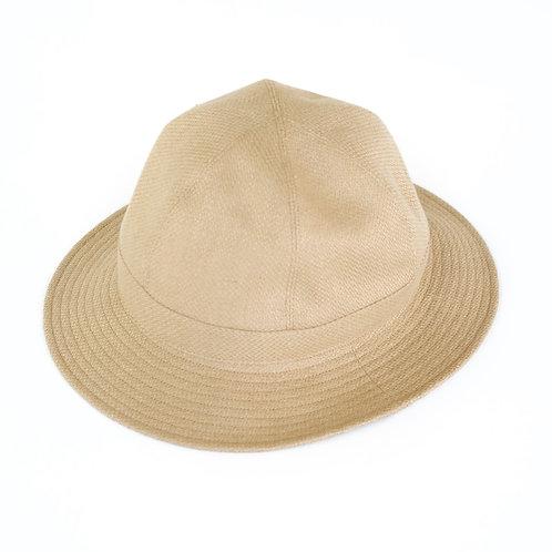 niuhans / Heavyweight Linen Broken Washer Hat (beige)