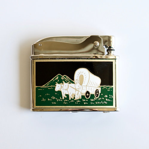 AMERICAN COLLECTION Petrol Lighter (Wagon Master)