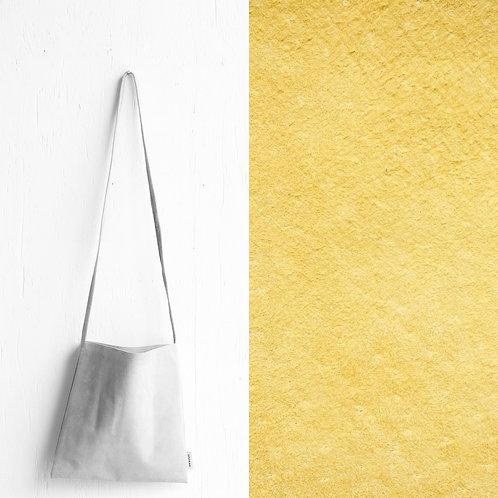 [受注] niuhans × howse / Mini Bag - Square (shoulder/Lemon Yellow)