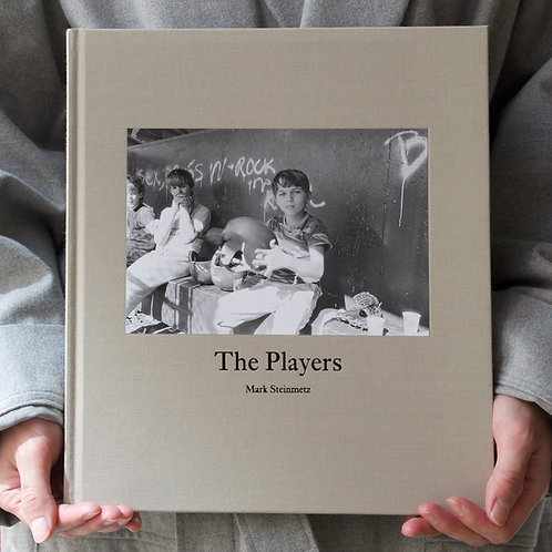 THE PLAYERS by Mark Steinmetz  (SIGNED)