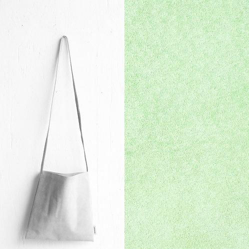 [受注] niuhans × howse / Mini Bag - Square (shoulder/Mint Green)