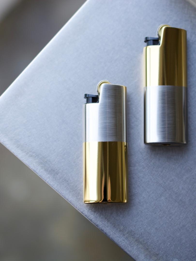 Brass Lighter Holder