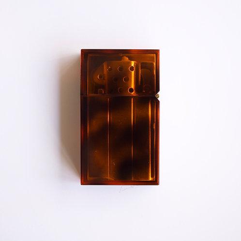 Hard-edge Petrol Lighter / Marble (tortoise)