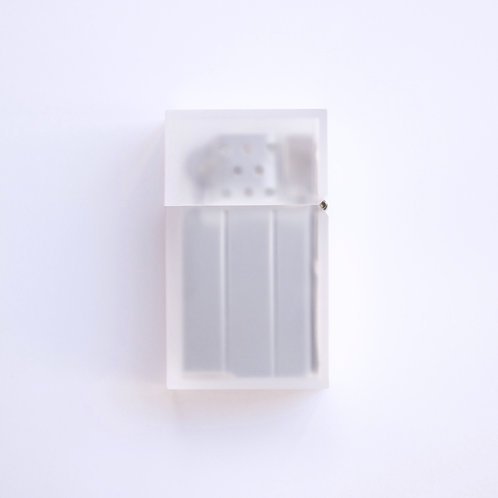 Hard-edge Petrol Lighter / L-Colour (frost)