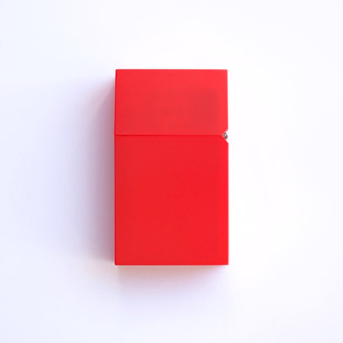 Hard-edge Petrol Lighter / L-Colour (red)