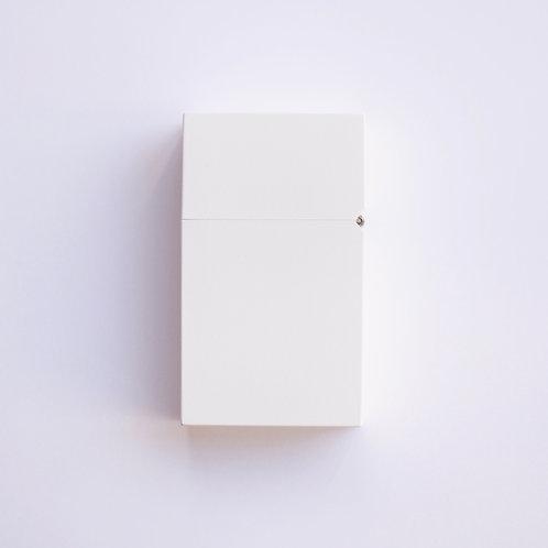 Hard-edge Petrol Lighter / L-Colour (white)