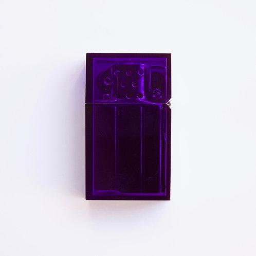 Hard-edge Petrol Lighter / Clear-Colour (purple)
